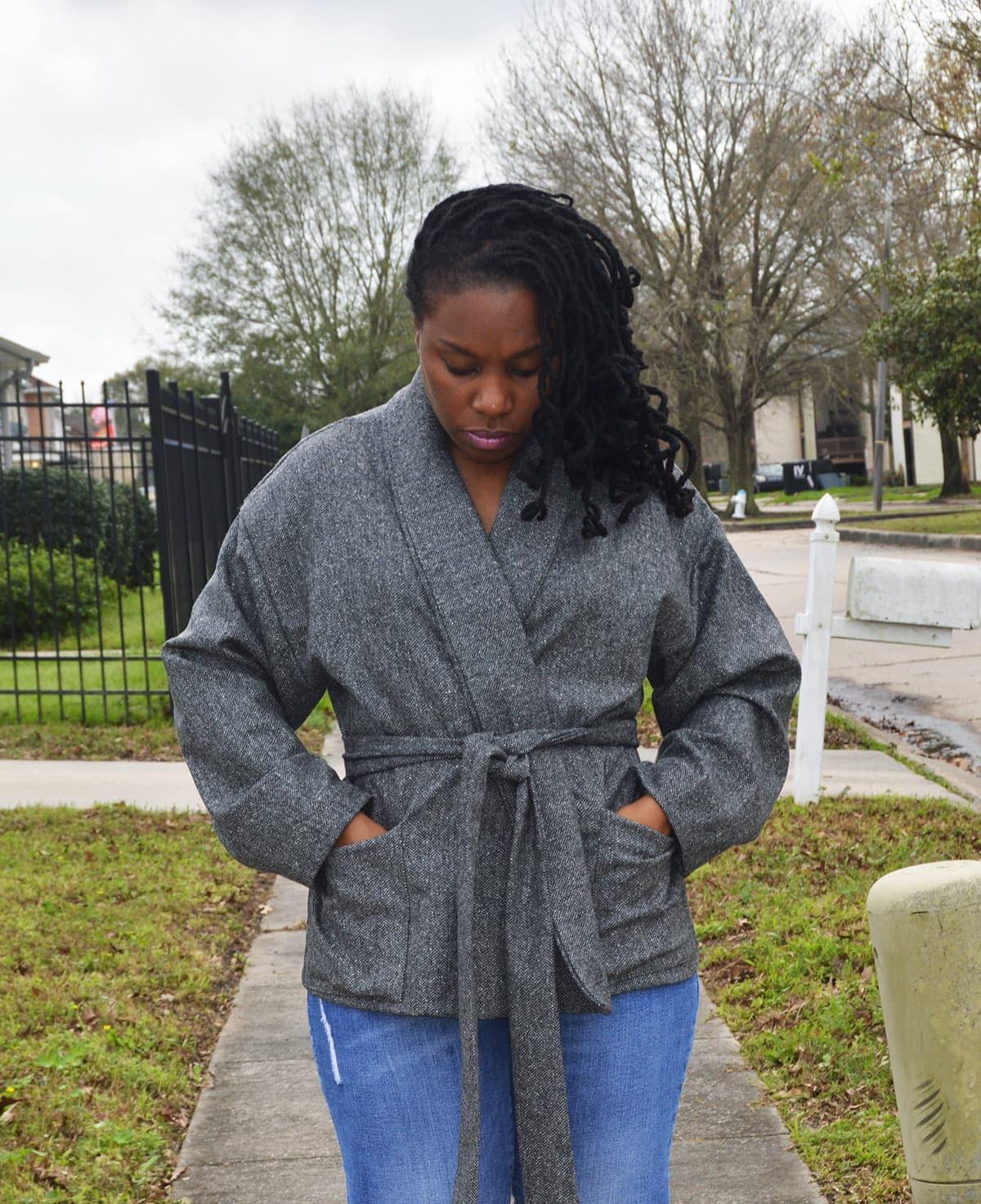 McCall's 7912 Wool Herringbone Jacket