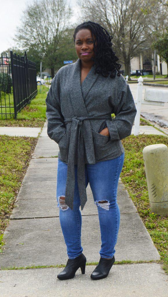 Wool Herringbone Jacket McCall's 7912