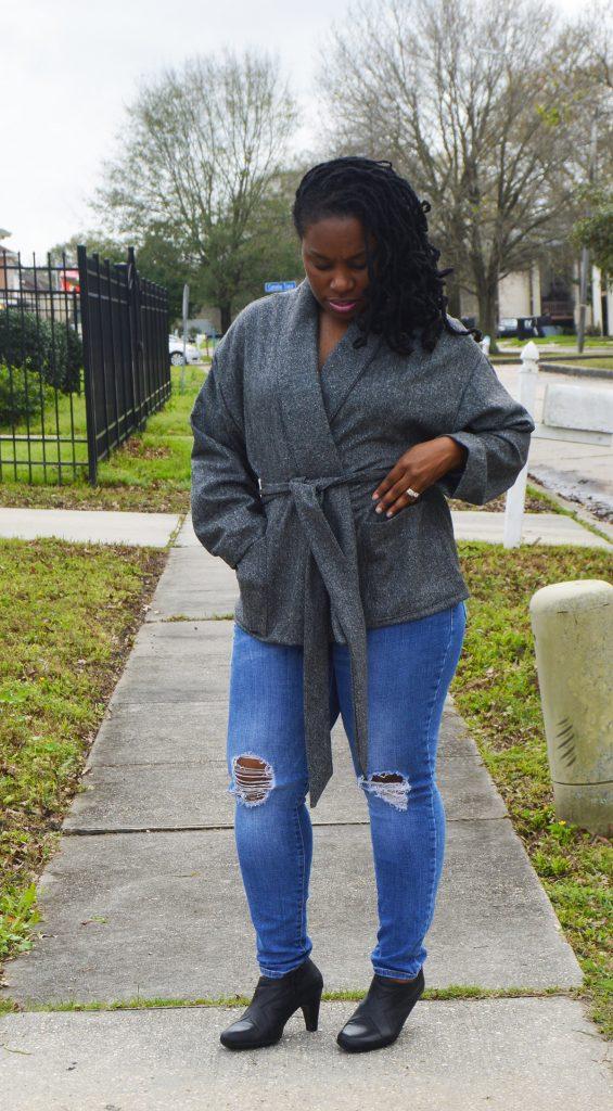Wool herringbone jacket McCall's' 7912