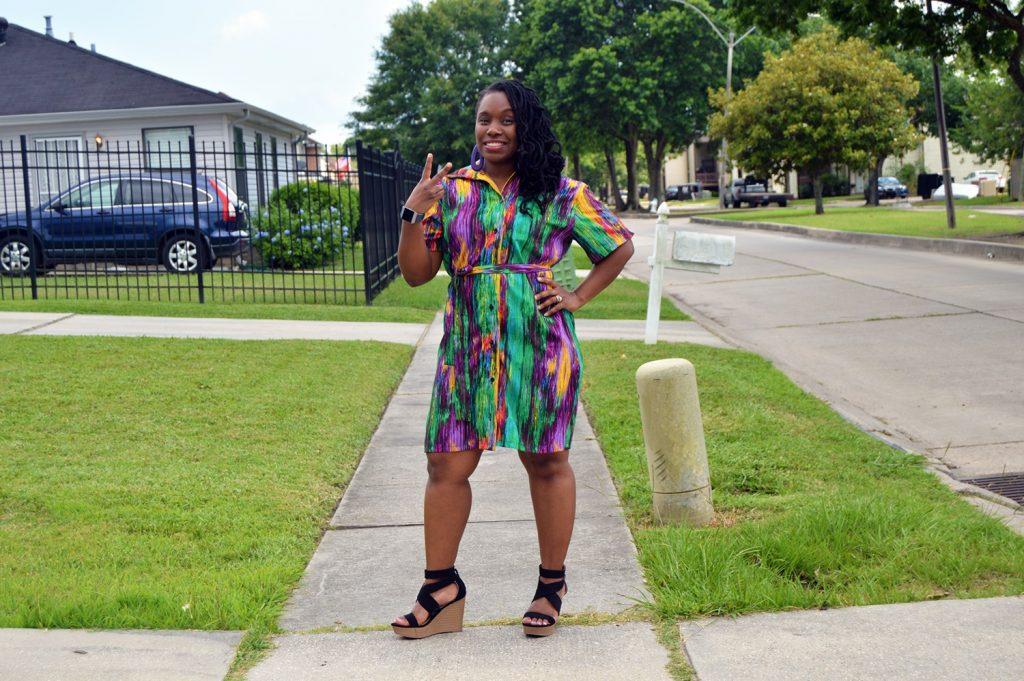 Women's Shirt Dress Simplicity 8908
