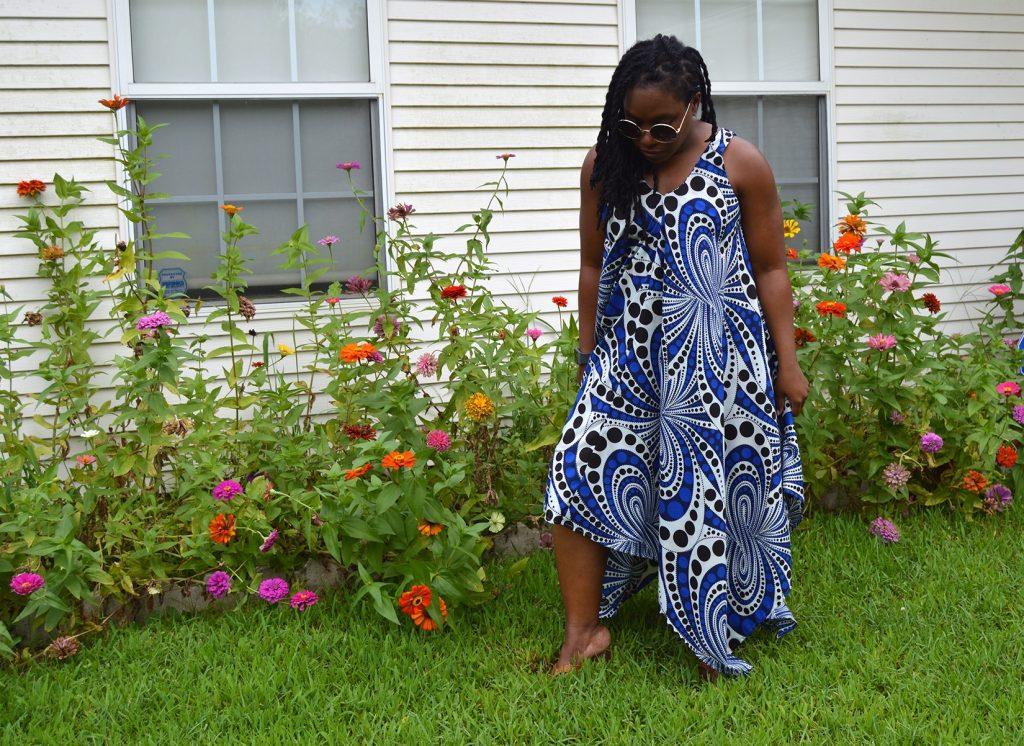 Handkerchief Dress McCall's 7402