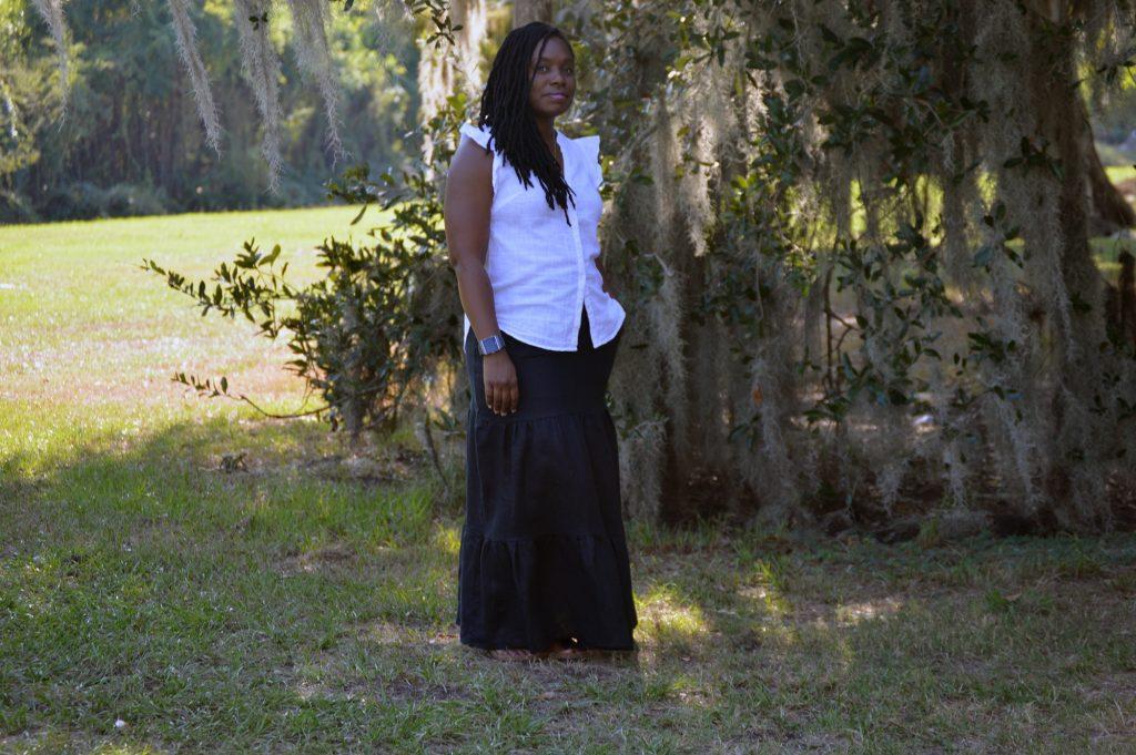 Maxi Peasant Skirt