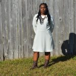 Valerie raglan sleeve dress