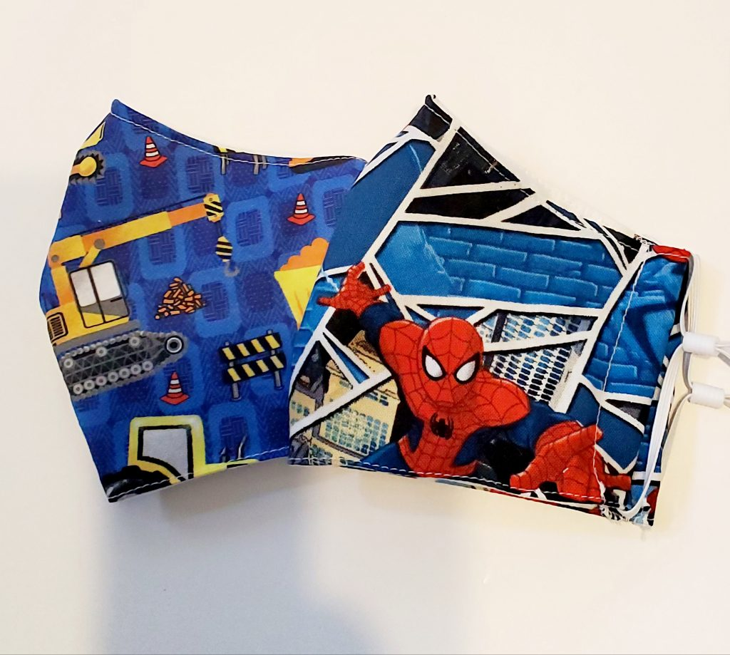 Spiderman Kids Face Mask